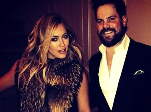 Hilary Duff and Mike Comrie, NYE 2014 (Photo courtesy of Hilary Duff, instagram)