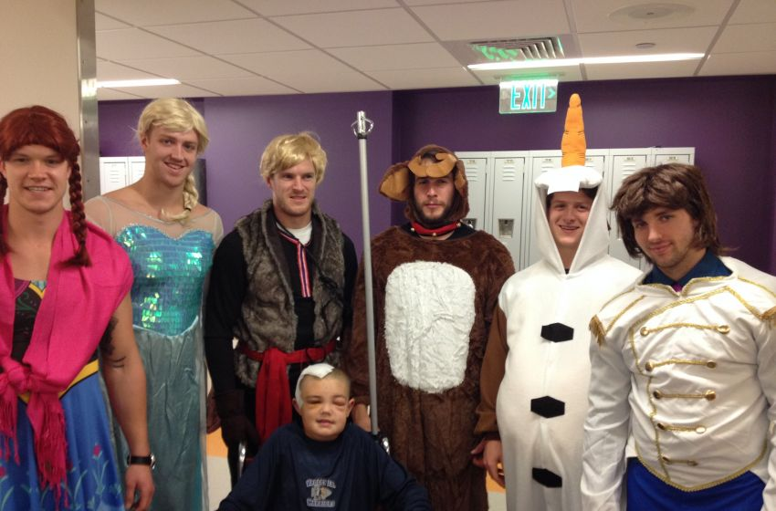 Frozen Characters Boston Bruins Players